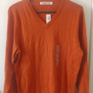 Burnt Orange lightweight sweater